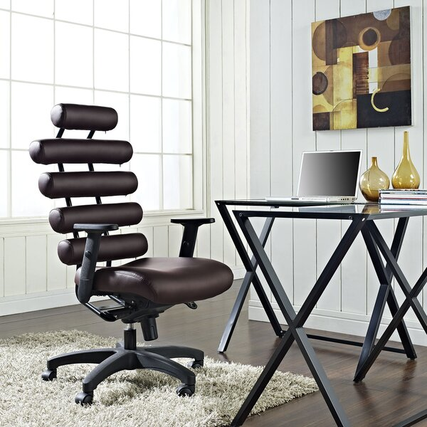 Pillow High-Back Desk Chair by Modway