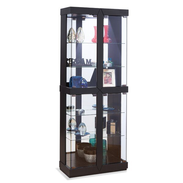 Rohe II Lighted Curio Cabinet by Philip Reinisch Co.