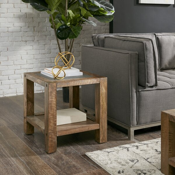 Marino End Table by Union Rustic
