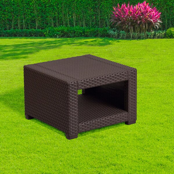 Tagged Rattan Coffee Table by Latitude Run