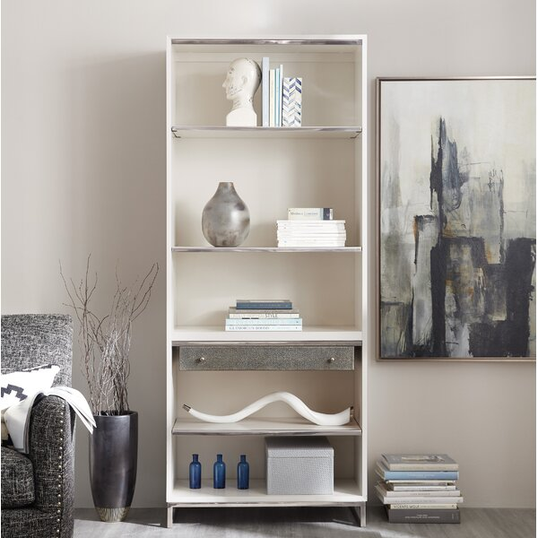 Sophisticated Contemporary Standard Bookcase by Hooker Furniture