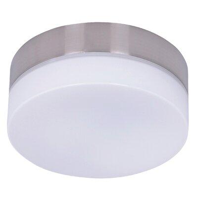 1-Light Ceiling Fan Bowl Light Kit Orren Ellis Finish: Brushed Chrome -  ADC97726257C43B3825D1CCCC89C3CB4