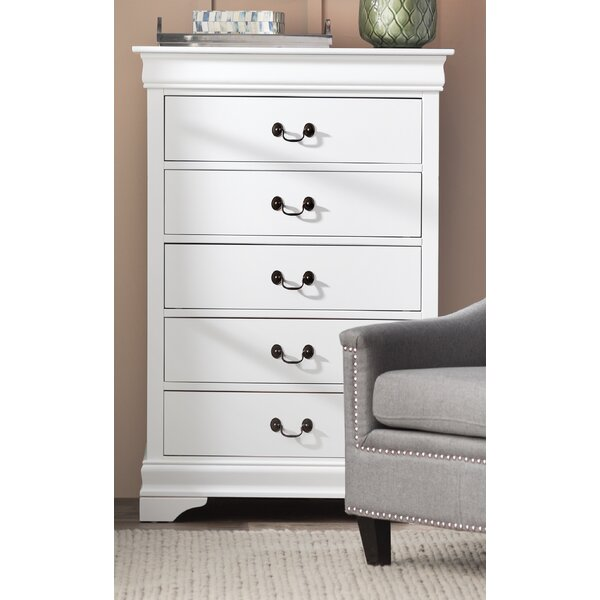 Tina 5 Drawer Wood Chest by Laurel Foundry Modern Farmhouse