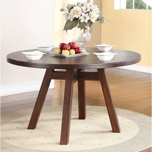 Garnes Solid Wood Dining Table by George Oliver