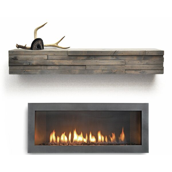 Modern Fireplace Mantel Shelf by Dogberry Collections