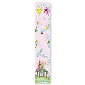 Toby Fairy Floral Growth Chart by Harriet Bee