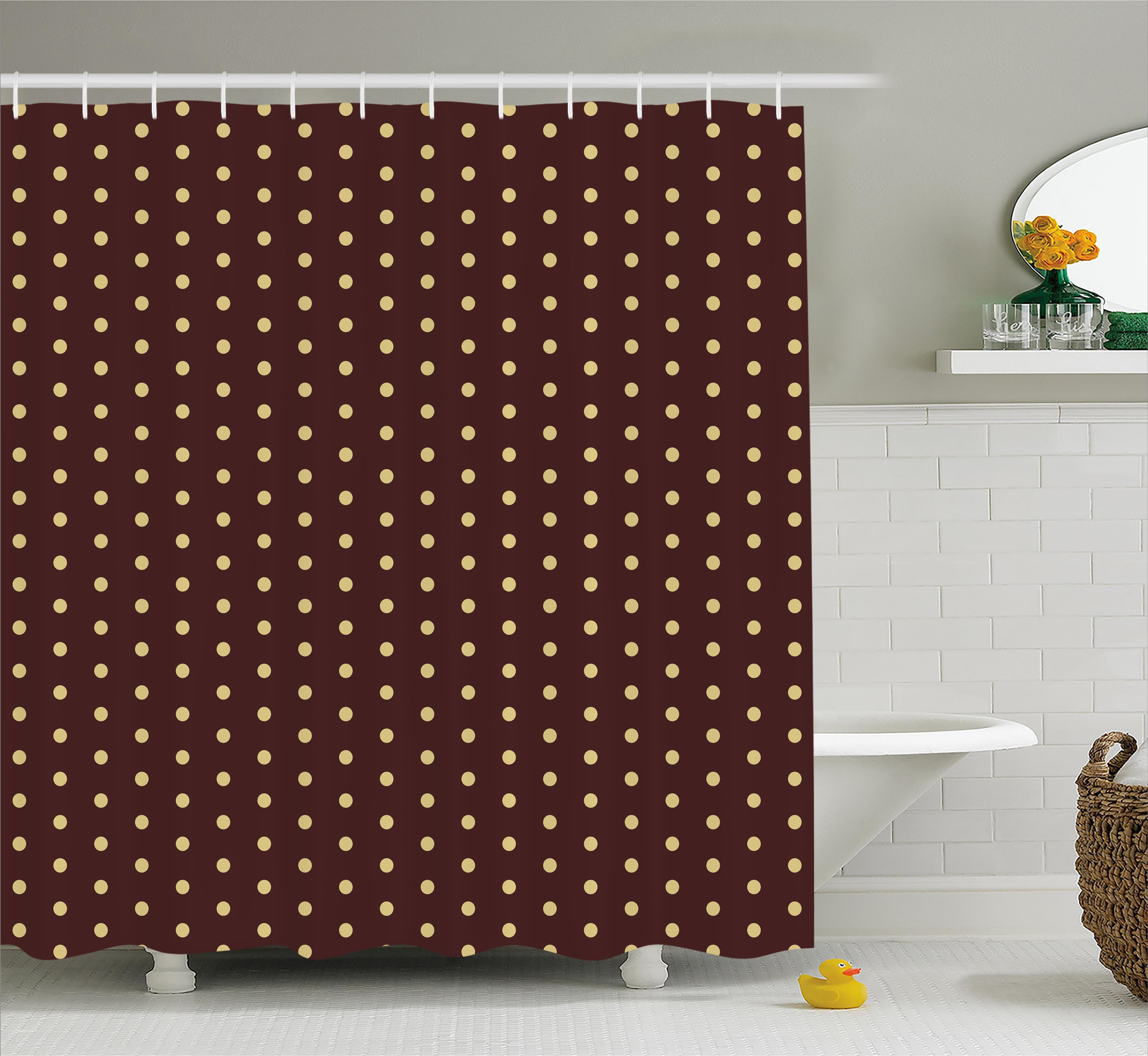 Winston Porter Briarwood Old Fashion Retro Dots Shower Curtain ...