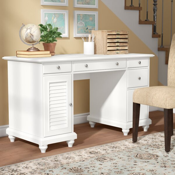 Midland Executive Desk by Three Posts