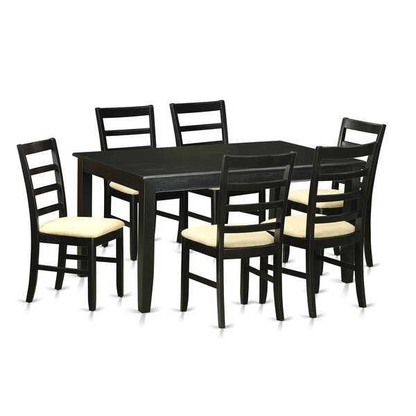 Sisneros 7 Piece Dining Set by Charlton Home Charlton Home