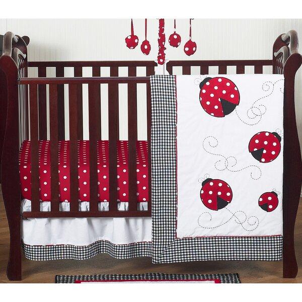 Ladybug 4 Piece Crib Bedding Set by Sweet Jojo Designs