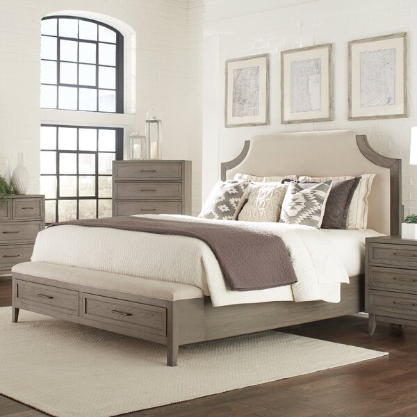 Bangor Rochford Upholstered Storage Standard Bed by Three Posts