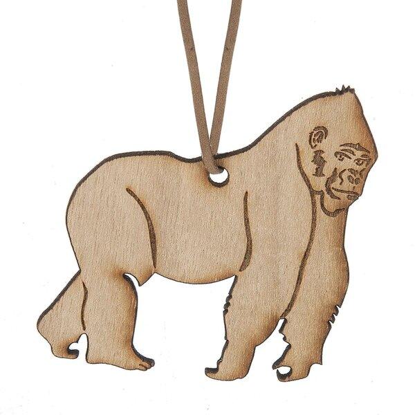 Gorilla Hanging Figurine by Bloomsbury Market