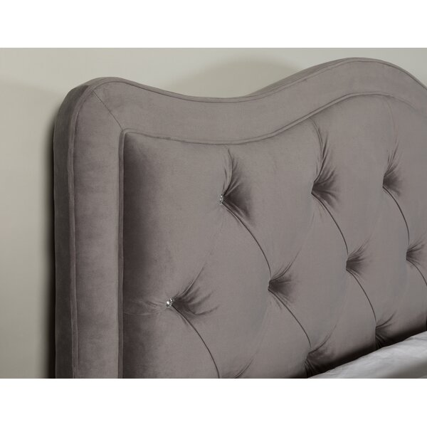 Kenwood Upholstered Panel Headboard by Rosdorf Park