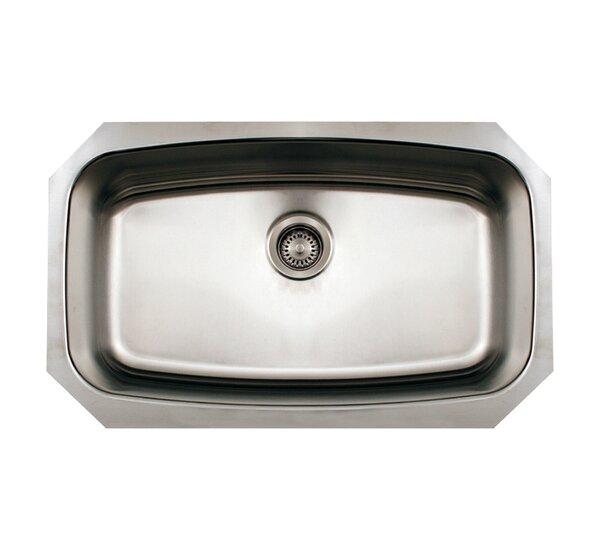 Noah 30 L x 18 W Single Bowl Undermount Kitchen Sink