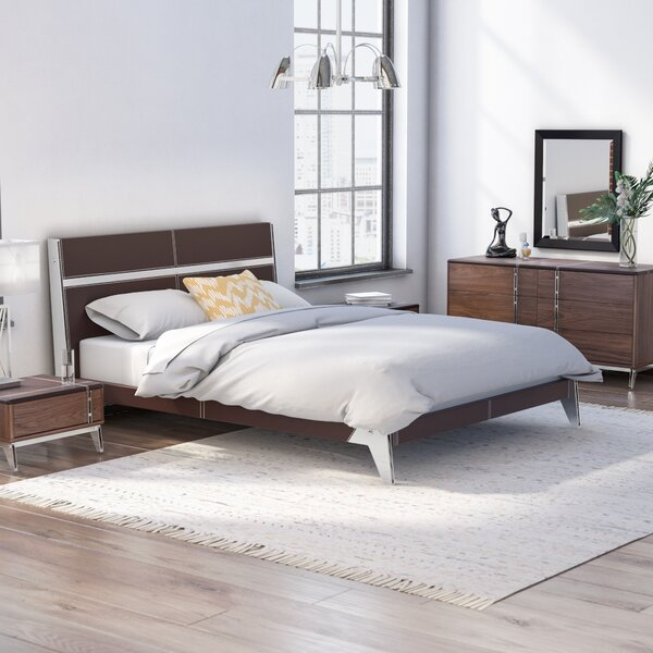 Dorian Platform 4 Piece Bedroom Set by Wade Logan