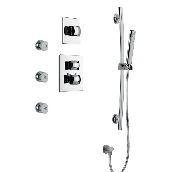 Lady Volume Thermostatic Shower System by LaToscana