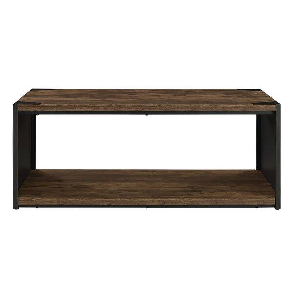 Wingert Floor Shelf Coffee Table By Union Rustic