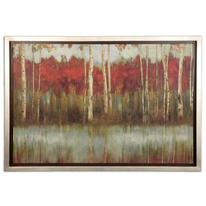 The Edge by Grace Feyock Framed Painting Print by Uttermost