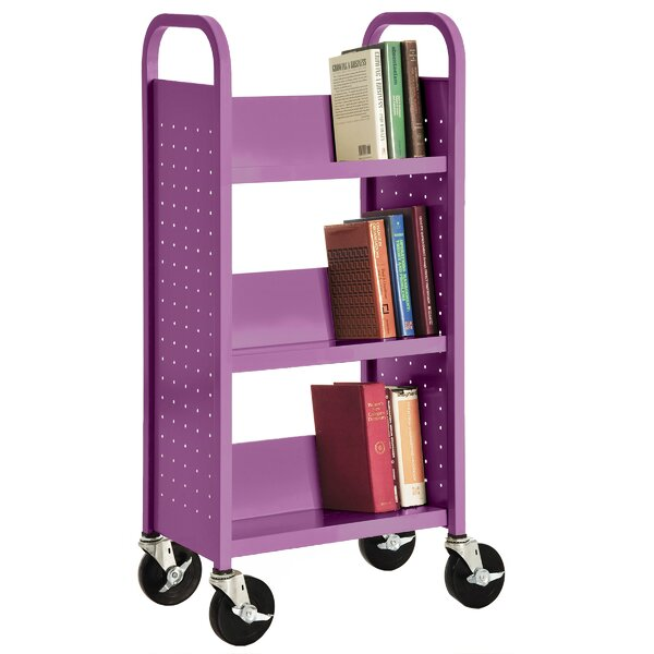 Book Cart by Sandusky Cabinets