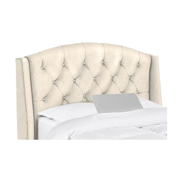 Leola Extra Long Twin Upholstered Headboard by Canora Grey