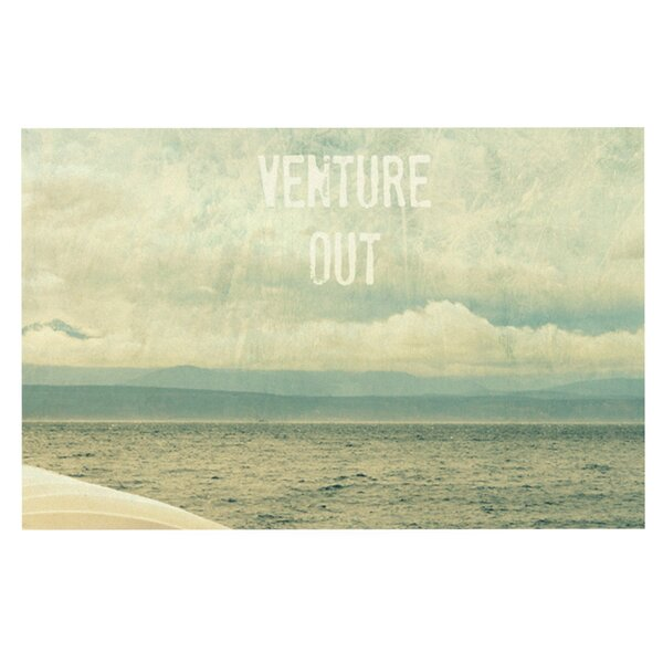 Venture Out by Robin Dickinson Fleece Throw Blanket by KESS InHouse