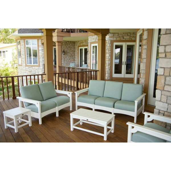 Club 5 Piece Deep Seating Group by POLYWOOD®