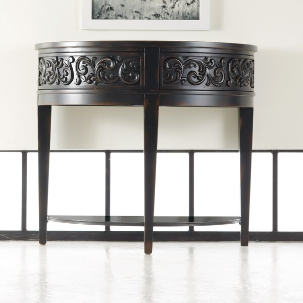 Melange Damasque Demi Console Table by Hooker Furniture