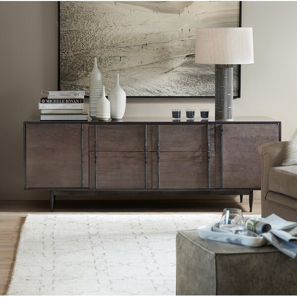 Wormy Console Table by Hooker Furniture
