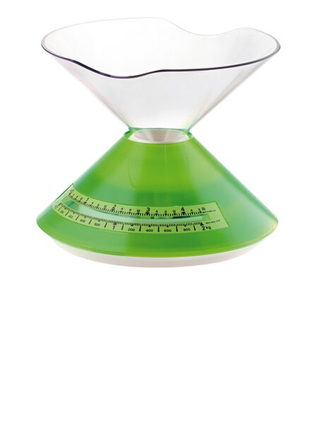 Bilance Acrylic Dolly 33.5 Oz. Mechanical Kitchen Scale by Guzzini