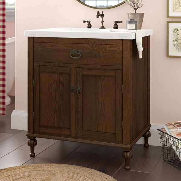 Roseberry 30 Single Bathroom Vanity Set by Laurel