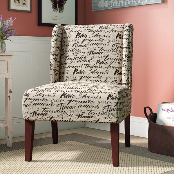 Yashvi Wingback Chair by Ophelia & Co.