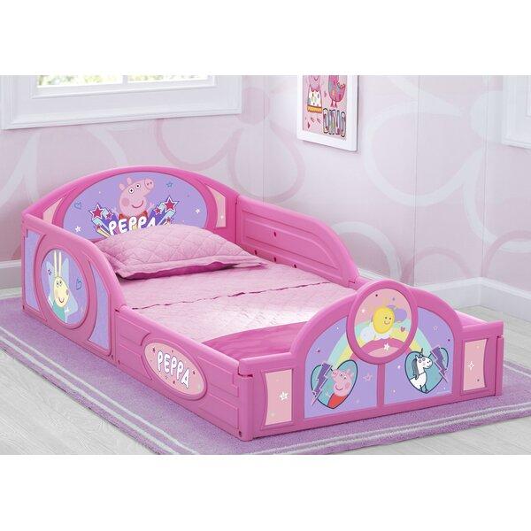 Peppa Pig Toddler Sleigh Bed by Delta Children