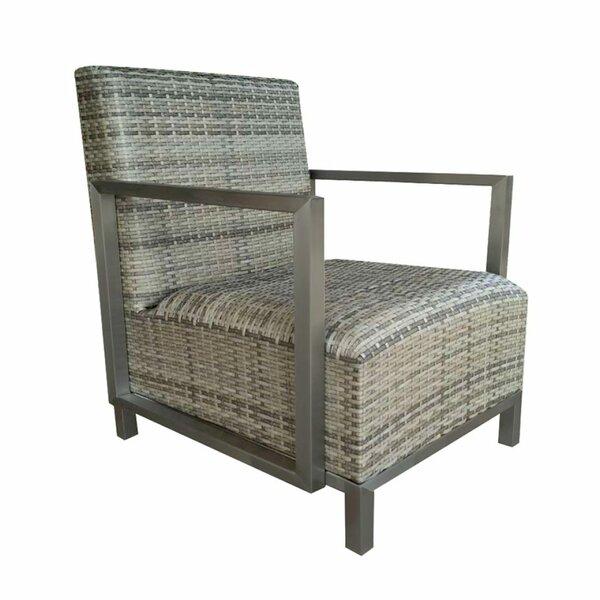 Kimura Patio Chair with Sunbrella Cushions by Brayden Studio