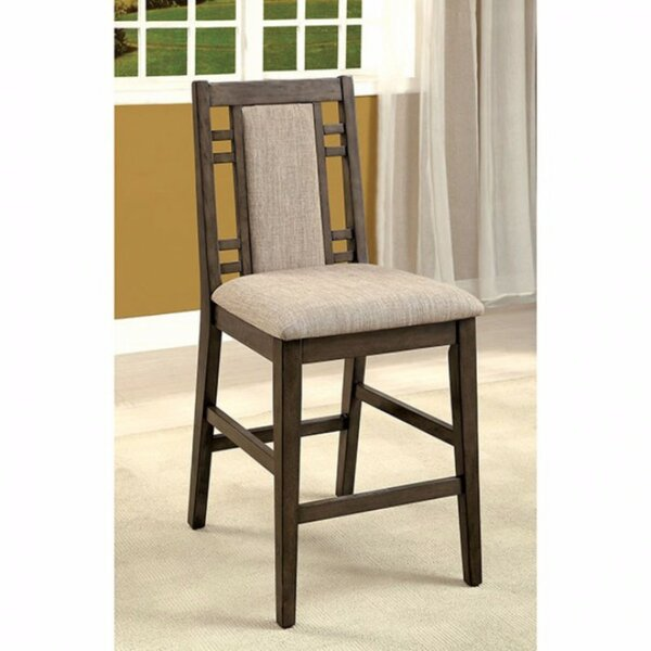 Blatt Counter Height Upholstered Dining Chair by Loon Peak