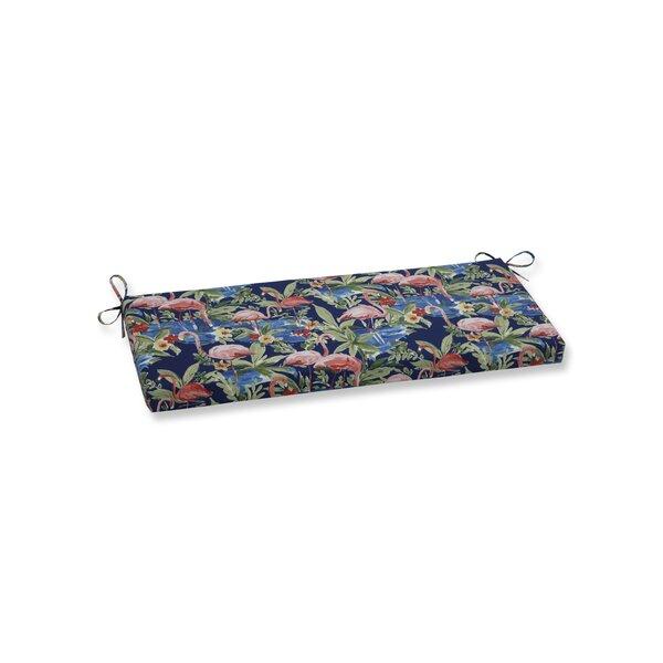 Flamingoing Lagoon Indoor/Outdoor Bench Cushion