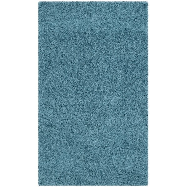 Acheson Turquoise Area Rug by Mercury Row