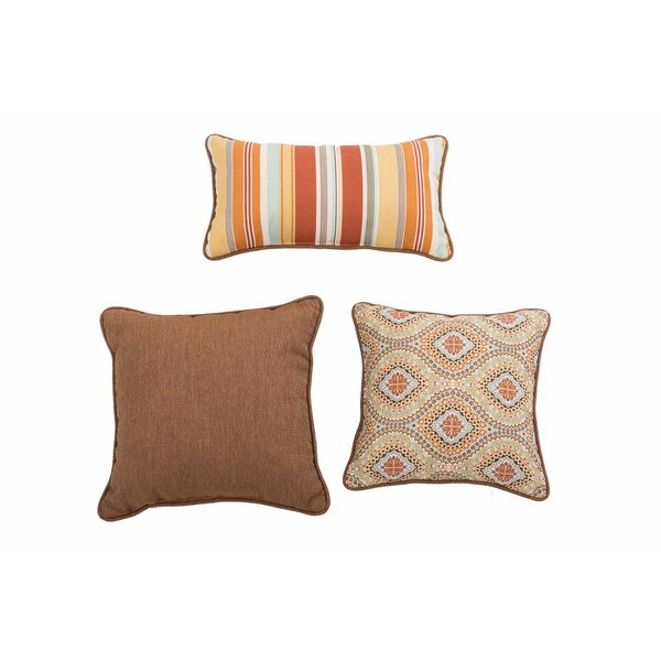 Espitia Magic Carpet Ogee 3 Piece Pillow Set by Red Barrel Studio