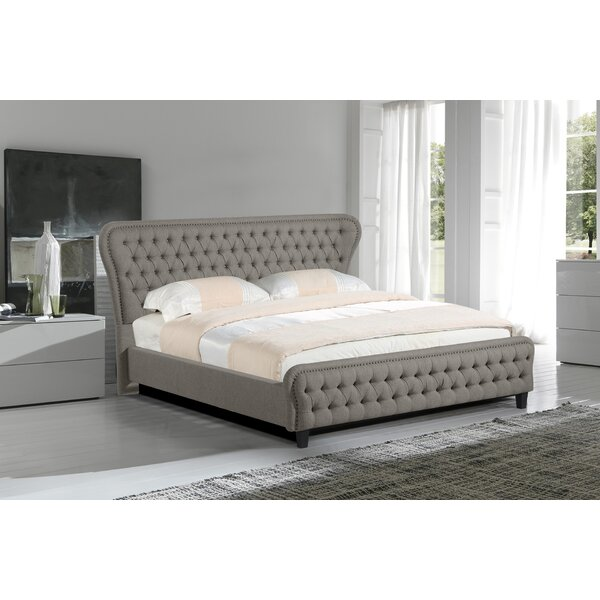 Niagara Upholstered Platform Bed by Rosdorf Park