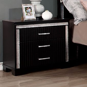 Hyde 3 Drawer Nightstand by A&J Homes Studio