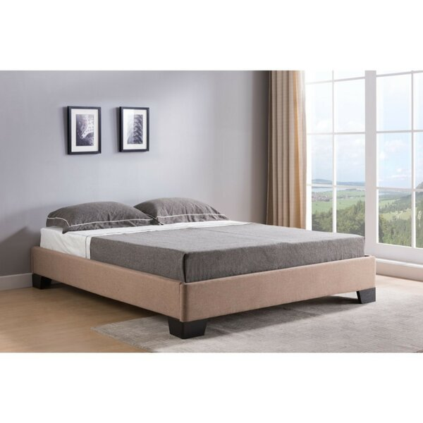 Nakagawa Queen Upholstered Platform Bed by Winston Porter