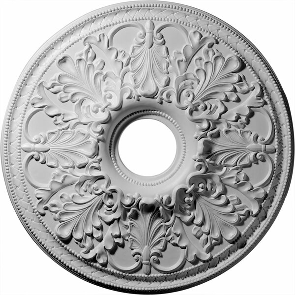 Ashley 1/9H x 23 7/8W x 2 1/8D Ceiling Medallion by Ekena Millwork