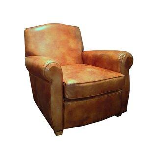 Vassar Top Grain Leather Club Chair