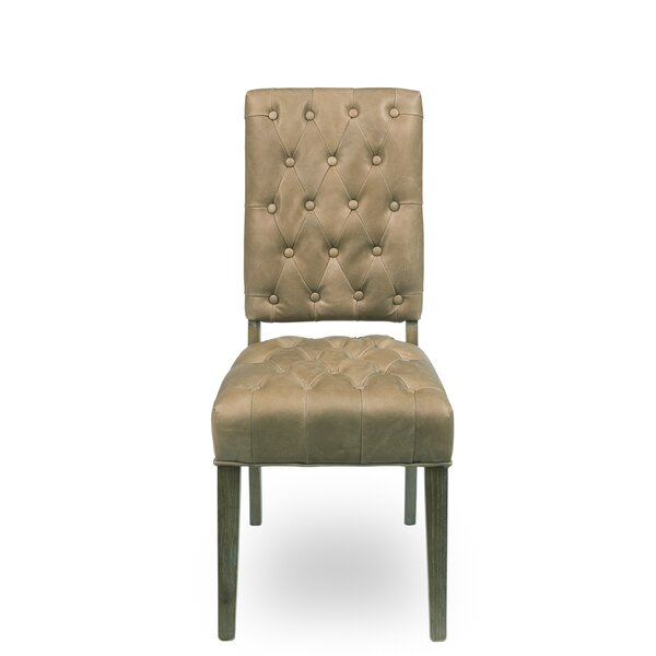 Brady Upholstered Dining Chair (Set of 2) by Sarreid Ltd