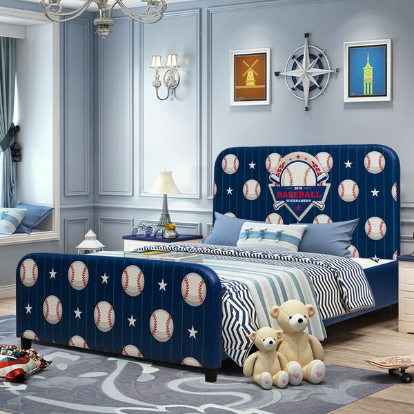 Lindahl Toddler Platform Bed by Harriet Bee