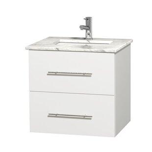 Centra 24 Single Bathroom Vanity Set by Wyndham Collection