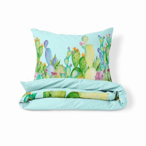 Bedworth Pastel Cactus Duvet Cover Set