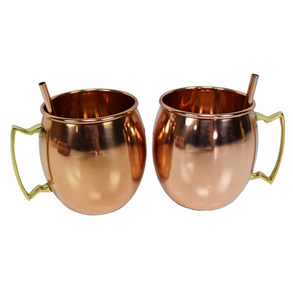 Mcentee 17 oz. Mule Mugs (Set of 2) by Ivy Bronx