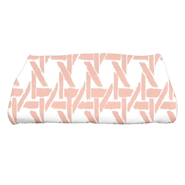 Sailer Rattan Geometric Print Bath Towel by Ivy Bronx