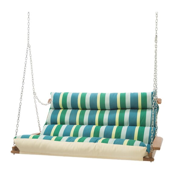 Pacheco Deluxe Sunbrella Porch Swing by Rosecliff Heights