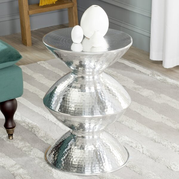 Guildsman Metal Table Stool by Safavieh